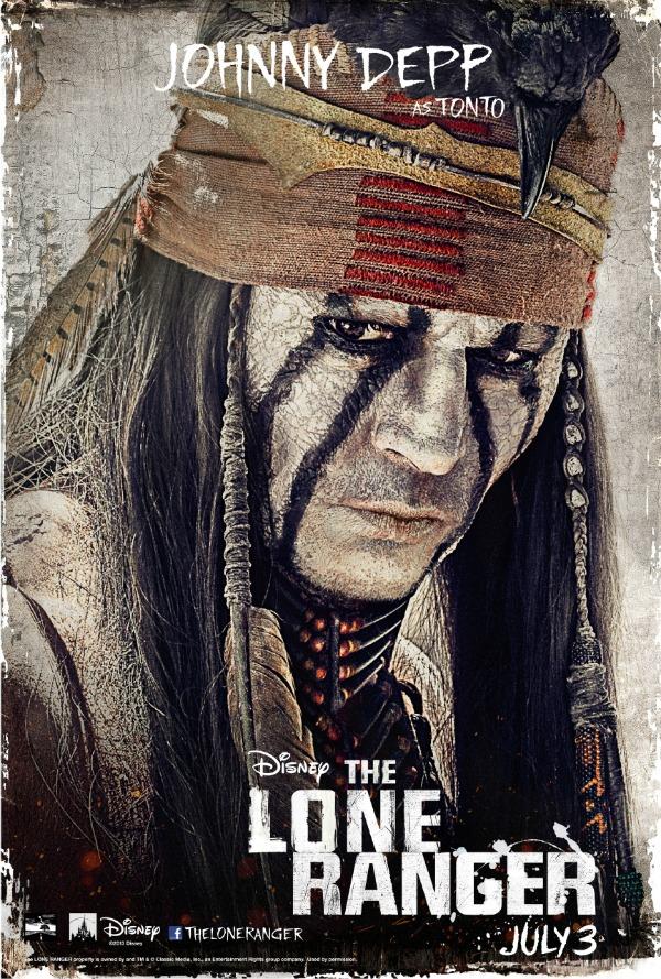 disney the lone ranger movie poster