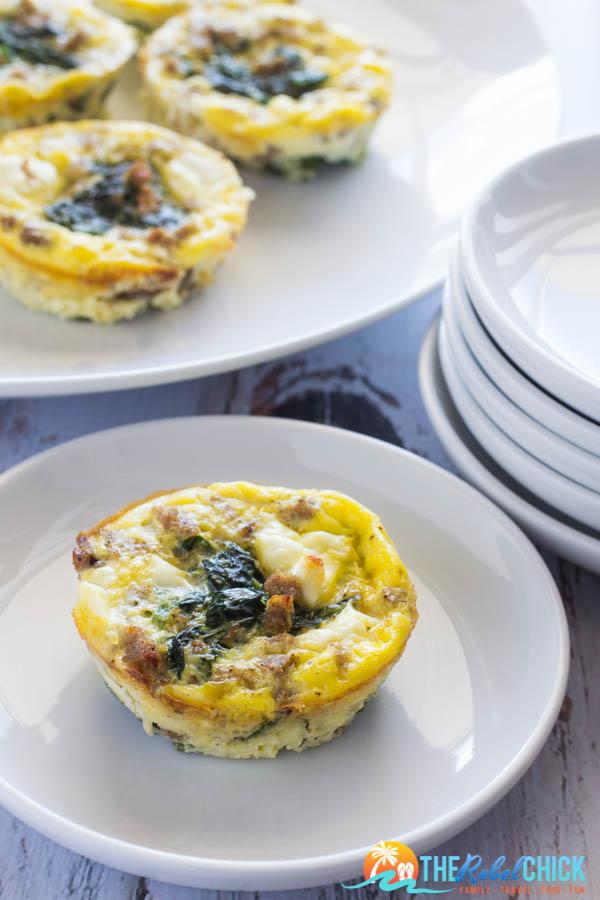 Spinach Egg Cups Recipe