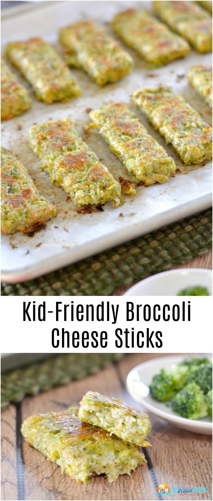 Kid-Friendly Broccoli Cheese Sticks Recipe