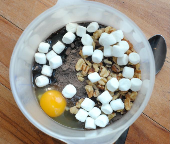 RockyRoadCakeMix Cookies