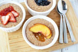 Summertime Instant Pot Oatmeal Recipe