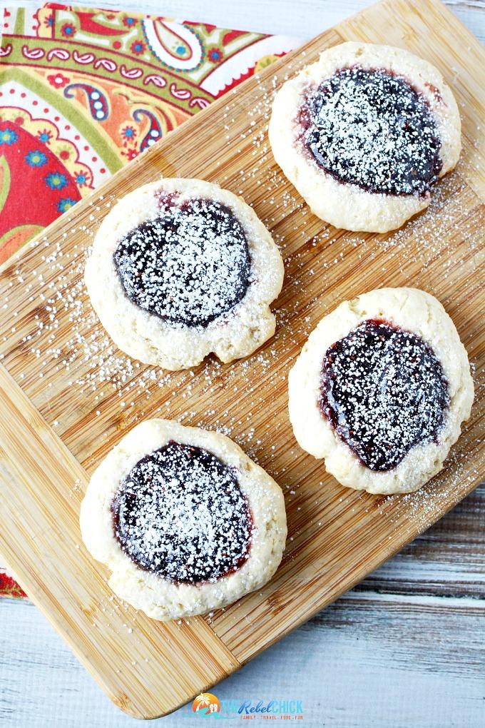 RaspberryThumbprintCookies Recipe