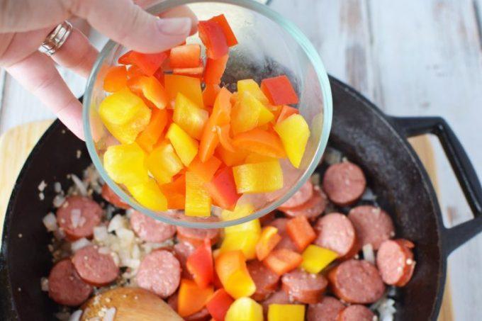 Sausage Tortellini Skillet Recipe