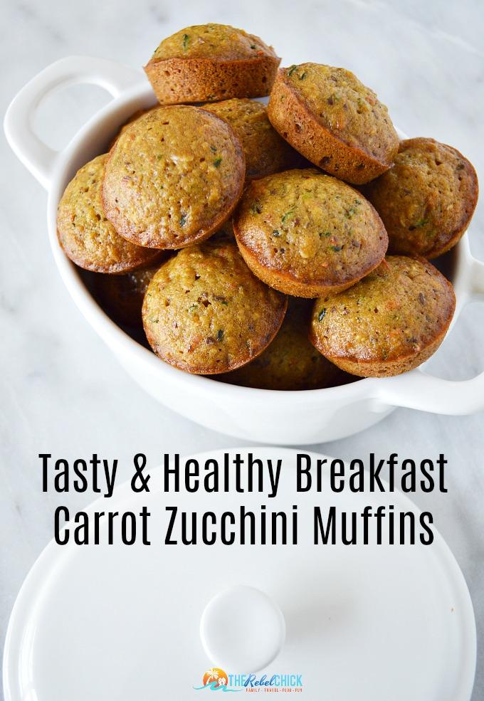 Carrot Zucchini Muffins Recipe