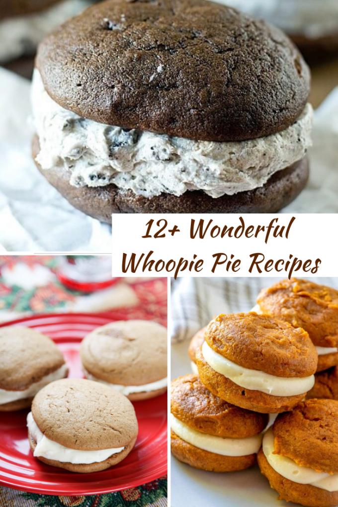 12+ Wonderful Whoopie Pie Recipes