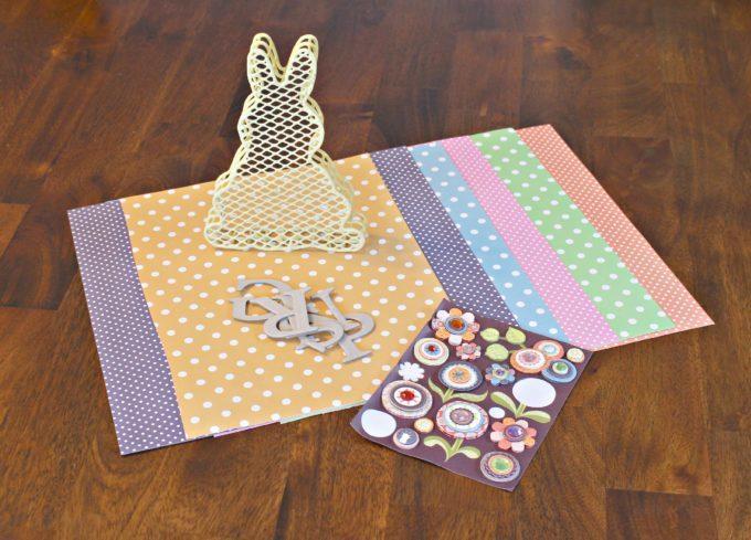 Homemade Easter Decor - DIY Easter Bunny Banner