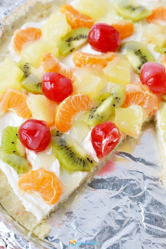 Easy Fruit Pizza Recipe for Summertime 2