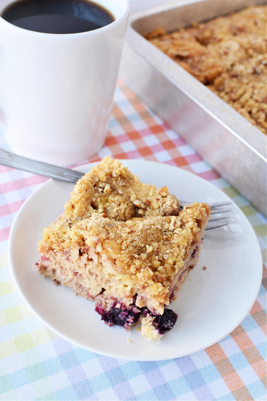 Very Berry Coffee Cake Recipe