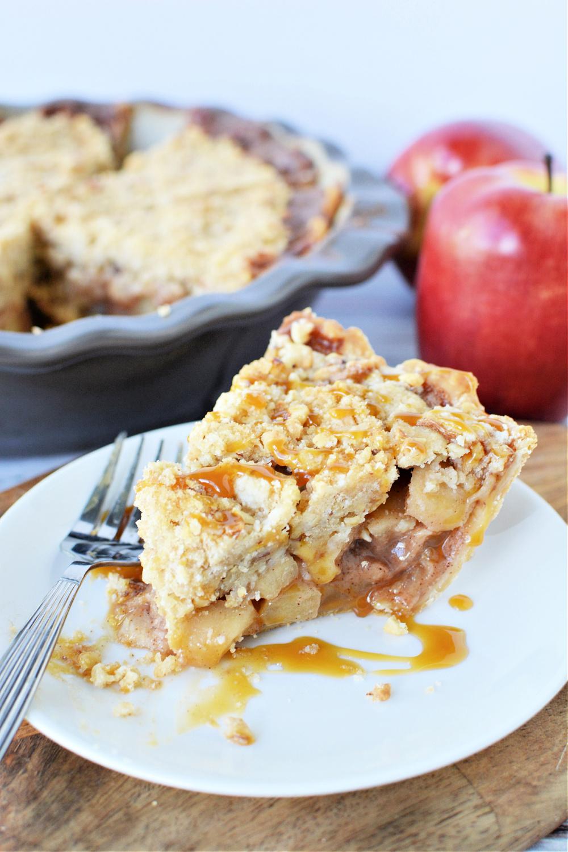 Super Easy Caramel Apple Pie Recipe