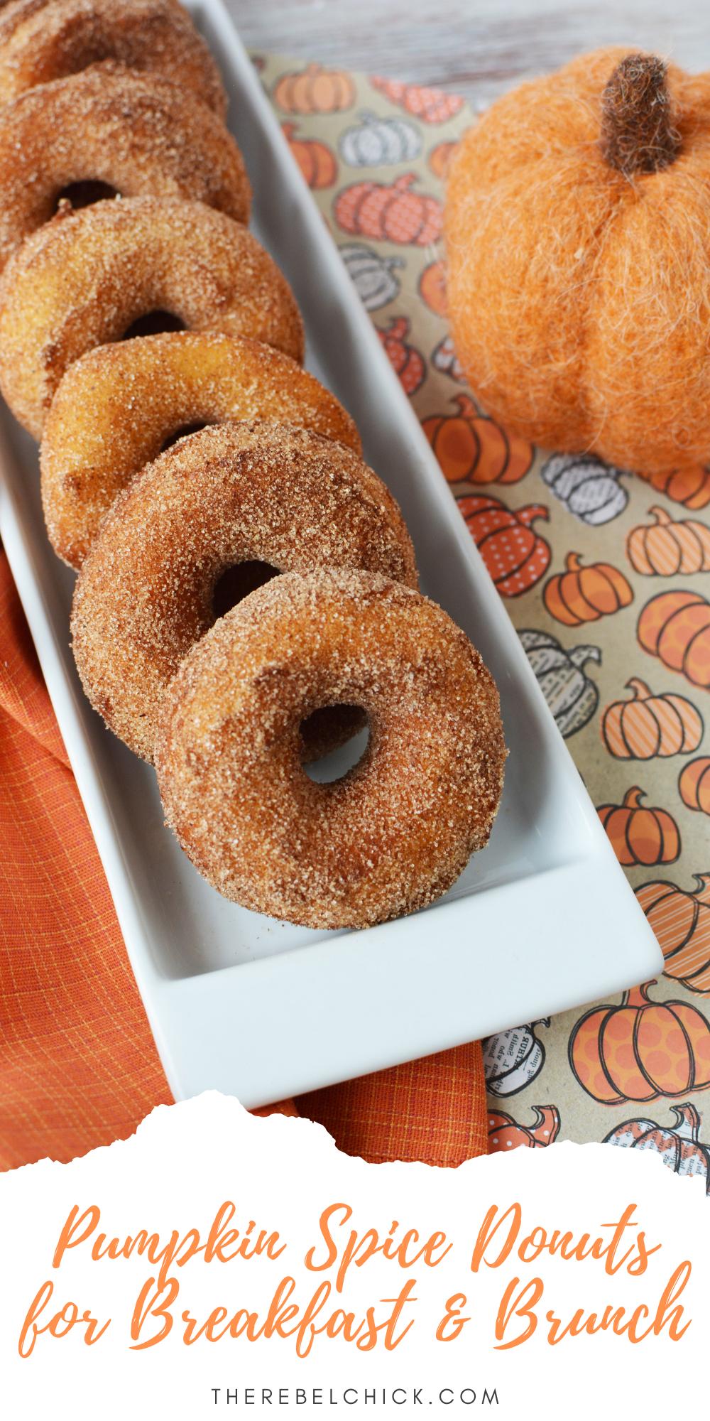 Pumpkin Spice Donuts Recipe for Breakfast & Brunch